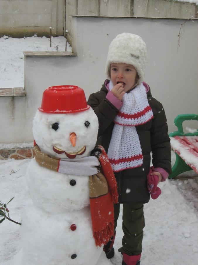 Ştefana şi Popovici the Snowman
