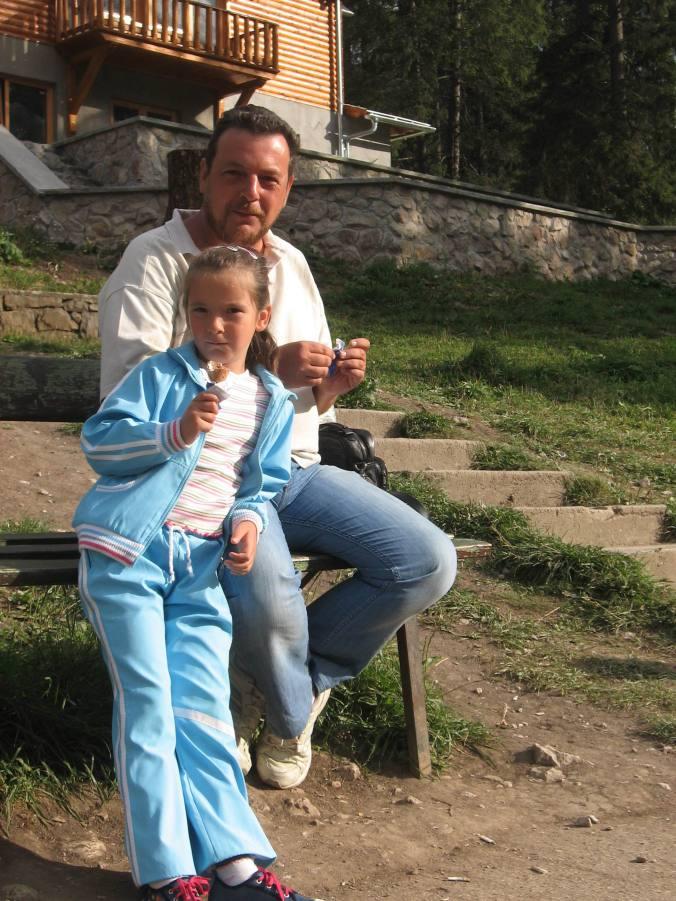 31 august, Lacu Roşu: pauză de îngheţată