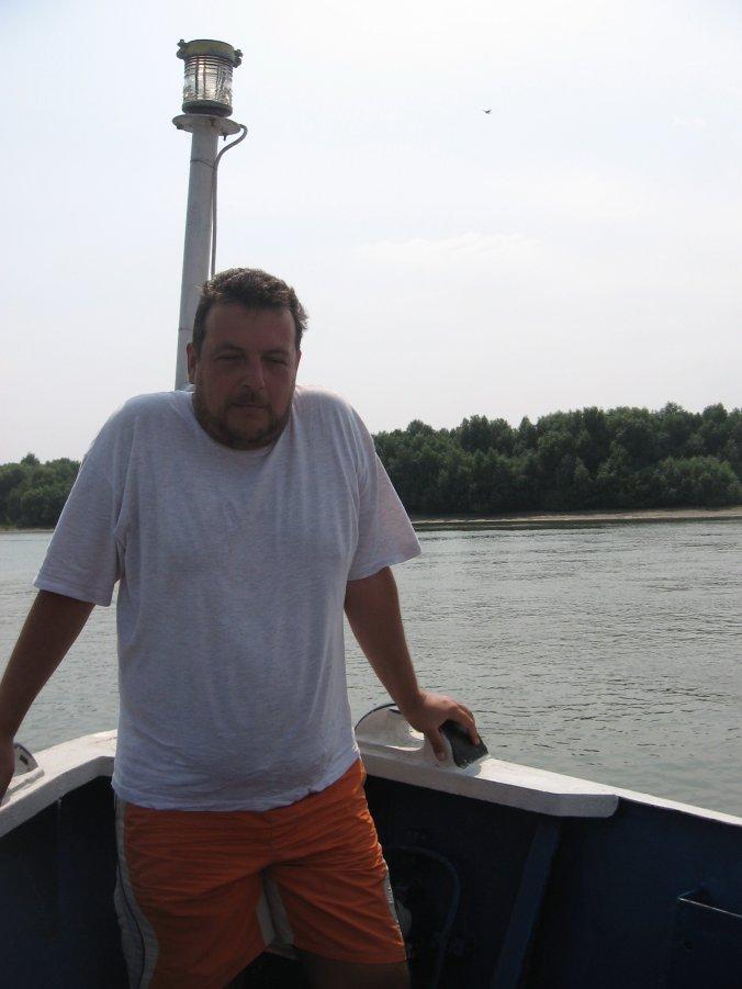 30 august, Brăila: I am sailing...