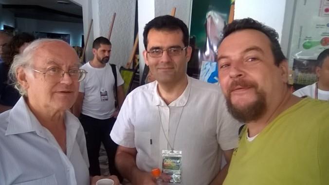Cu Mircea Opriţă şi Lucian Bogdan, doi omi dragi