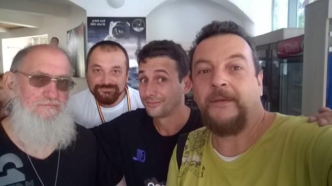 Cu Mircea Nanu, Alex Lamb şi Sagy însuşi